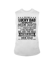 I Am A Lucky Dad Sleeveless Tee thumbnail