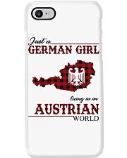 Just A German Girl In Austrian World Phone Case thumbnail