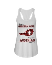Just A German Girl In Austrian World Ladies Flowy Tank thumbnail