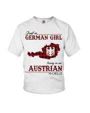 Just A German Girl In Austrian World Youth T-Shirt thumbnail