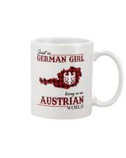 Just A German Girl In Austrian World Mug thumbnail