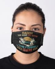 Retro vintage daddy man myth fishing  Cloth face mask aos-face-mask-lifestyle-01