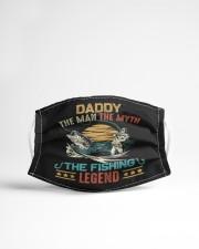 Retro vintage daddy man myth fishing  Cloth face mask aos-face-mask-lifestyle-22