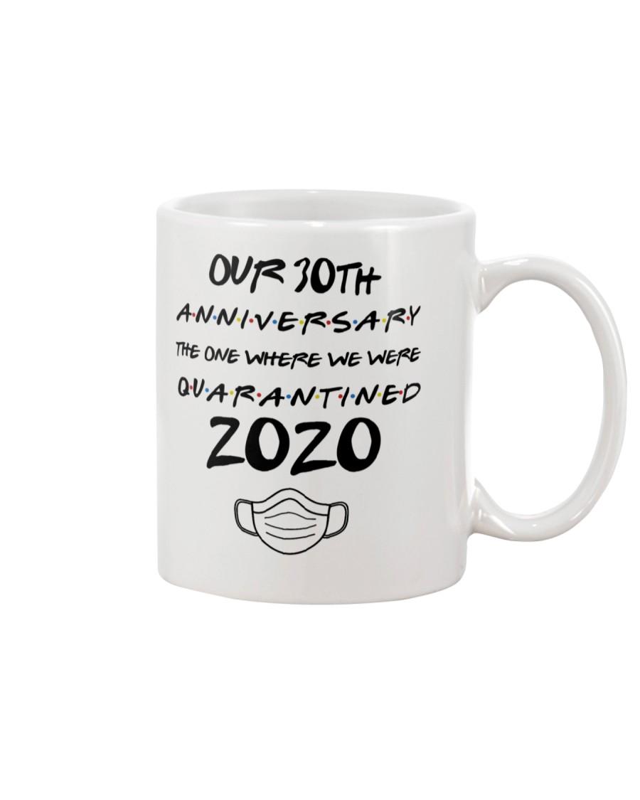 30TH Anniversary The One When We Were Quarantined Mug