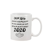 30TH Anniversary The One When We Were Quarantined Mug front