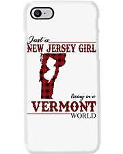 Just A New Jersey Girl In Vermont Phone Case thumbnail