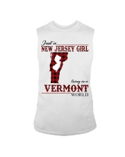 Just A New Jersey Girl In Vermont Sleeveless Tee thumbnail