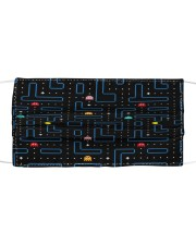 Pacman Cloth face mask front