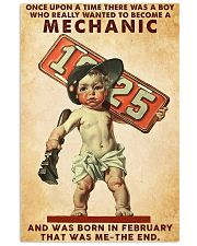 February Mechanic 24x36 Poster front