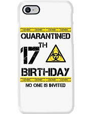 17th Birthday 17 Years Old Phone Case thumbnail