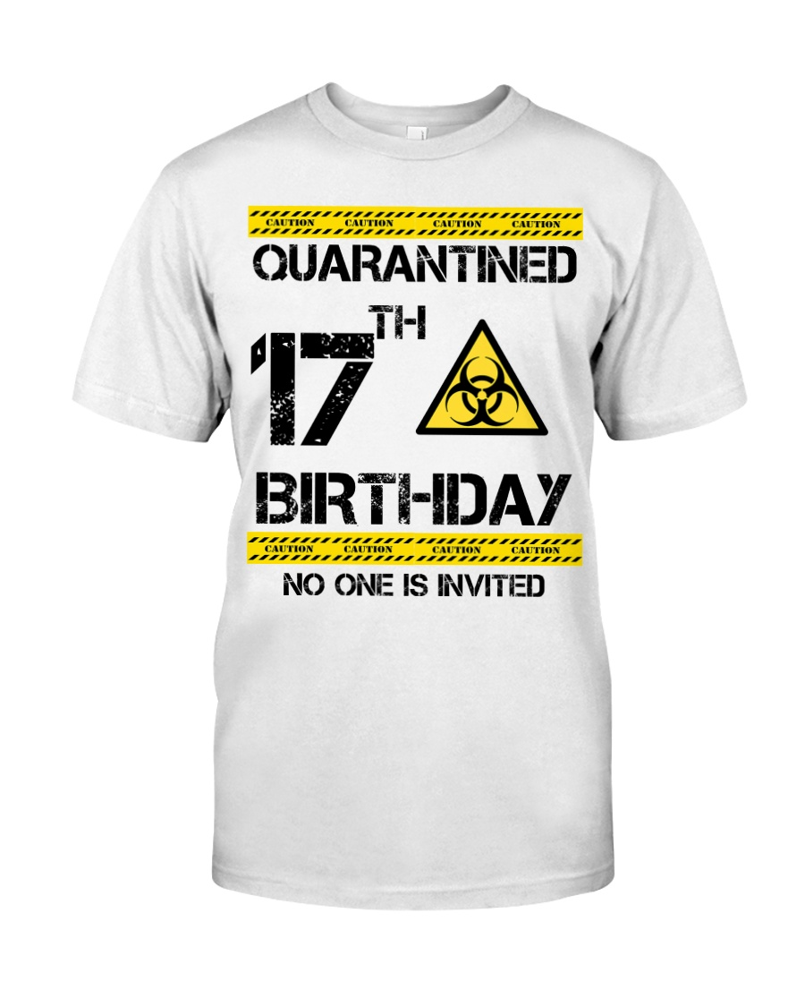 17th Birthday 17 Years Old Classic T-Shirt