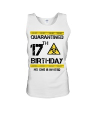17th Birthday 17 Years Old Unisex Tank tile
