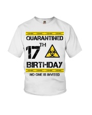 17th Birthday 17 Years Old Youth T-Shirt thumbnail