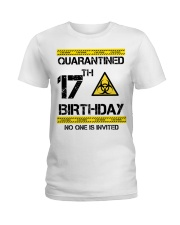 17th Birthday 17 Years Old Ladies T-Shirt thumbnail
