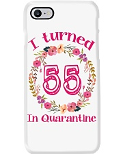 55th Birthday 55 Years Old Phone Case tile