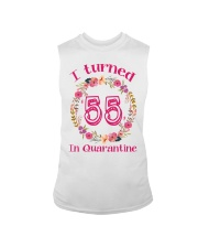 55th Birthday 55 Years Old Sleeveless Tee tile