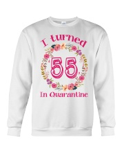 55th Birthday 55 Years Old Crewneck Sweatshirt tile