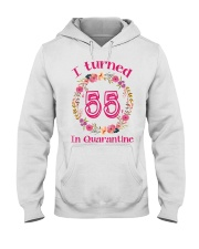 55th Birthday 55 Years Old Hooded Sweatshirt tile
