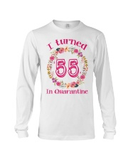 55th Birthday 55 Years Old Long Sleeve Tee thumbnail