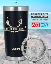 Eat Sleep Hunt  20oz Tumbler aos-20oz-tumbler-lifestyle-front-47