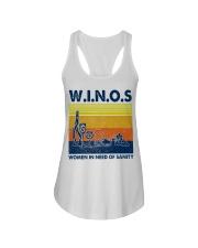 Winos Women in need of sanity Ladies Flowy Tank thumbnail