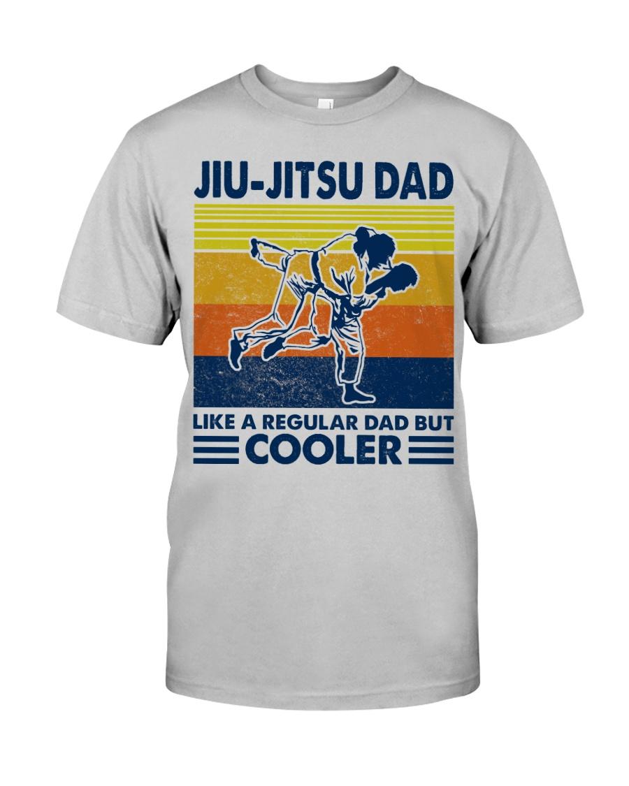 Jiu-Jitsu Dad Like a Regular dad but cooler Classic T-Shirt