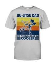 Jiu-Jitsu Dad Like a Regular dad but cooler Classic T-Shirt front