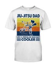 Jiu-Jitsu Dad Like a Regular dad but cooler Classic T-Shirt tile