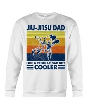 Jiu-Jitsu Dad Like a Regular dad but cooler Crewneck Sweatshirt thumbnail