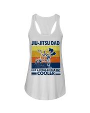 Jiu-Jitsu Dad Like a Regular dad but cooler Ladies Flowy Tank thumbnail