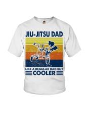Jiu-Jitsu Dad Like a Regular dad but cooler Youth T-Shirt thumbnail
