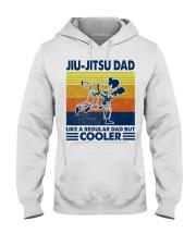 Jiu-Jitsu Dad Like a Regular dad but cooler Hooded Sweatshirt thumbnail