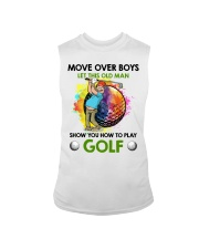 Let This Old Man Show You How To Play Golf Sleeveless Tee thumbnail