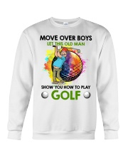 Let This Old Man Show You How To Play Golf Crewneck Sweatshirt thumbnail