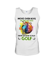 Let This Old Man Show You How To Play Golf Unisex Tank thumbnail