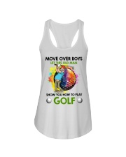 Let This Old Man Show You How To Play Golf Ladies Flowy Tank thumbnail