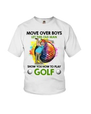 Let This Old Man Show You How To Play Golf Youth T-Shirt thumbnail