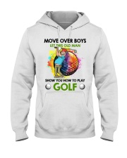 Let This Old Man Show You How To Play Golf Hooded Sweatshirt thumbnail