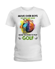 Let This Old Man Show You How To Play Golf Ladies T-Shirt thumbnail