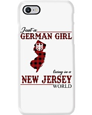 Just A German Girl In New Jersey World Phone Case thumbnail