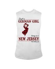 Just A German Girl In New Jersey World Sleeveless Tee thumbnail