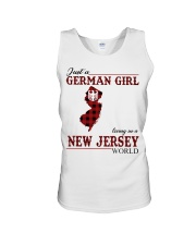 Just A German Girl In New Jersey World Unisex Tank thumbnail
