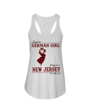Just A German Girl In New Jersey World Ladies Flowy Tank thumbnail