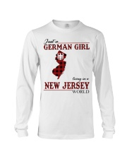Just A German Girl In New Jersey World Long Sleeve Tee thumbnail