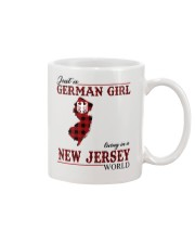 Just A German Girl In New Jersey World Mug thumbnail