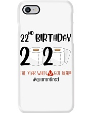 22nd Birthday 22 Years Old Phone Case thumbnail