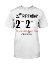 22nd Birthday 22 Years Old Classic T-Shirt tile