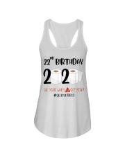 22nd Birthday 22 Years Old Ladies Flowy Tank thumbnail