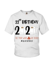 22nd Birthday 22 Years Old Youth T-Shirt thumbnail