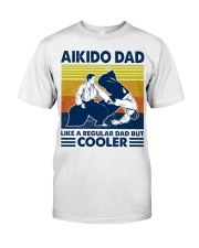 Aikido Dad Like A Regular Dad But Cooler Classic T-Shirt tile